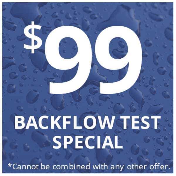 backflow testing special